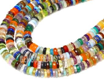 Red Coral Heishi Tyre Wheel Seed Tribal Afghani Beads Strand Craft Bead 2mm DIY