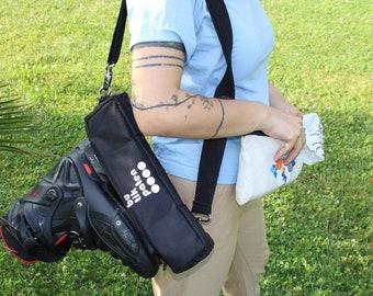 Inline Skate Small Wheels Bag Roller Skate Black Shoulder Strap /  Leash