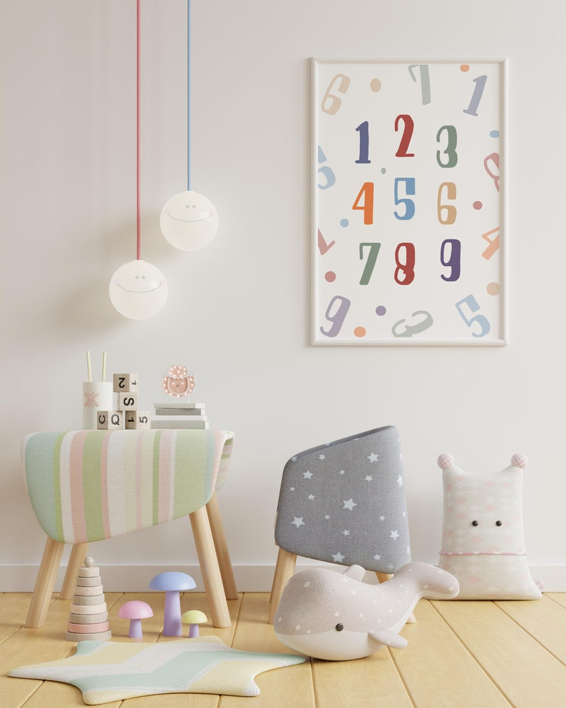 Numbers For Kids Downloadable print