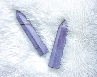 Lavender Lepidolite Towers