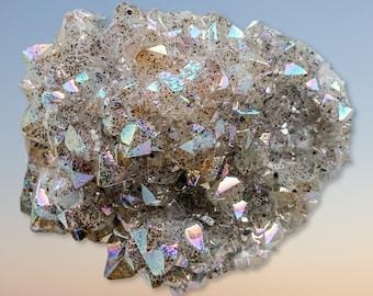 Aura Quartz Cluster