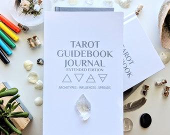 Tarot Guidebook Journal Extended Edition, book, Tarot journal, tarot book, learning tarot, tarot card meaning, Tarot Guidebook Journal