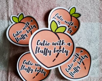 Peach bottom   peach sticker