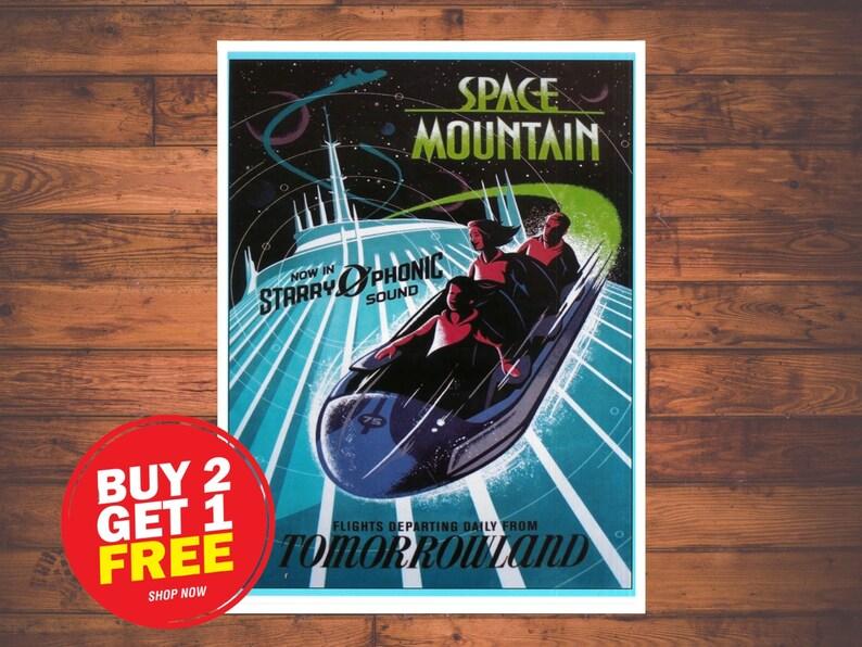 Disney Space Mountain Ride  0082