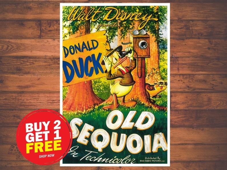 Disney Donald in Old Sequoia  0215