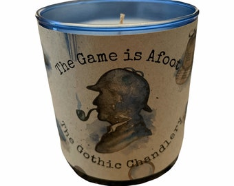 Vintage Goth Smoking Jacket Scented Candle