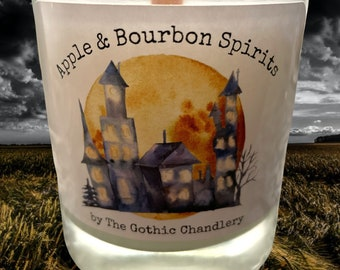 Haunted House Apple Bourbon Fall Scented Candle