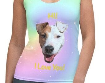 Sublimation Cut & Sew Tank Top - Rover Love