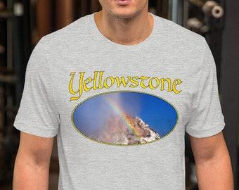 Short-Sleeve Unisex T-Shirt - Yellowstone Rainbow Geyser