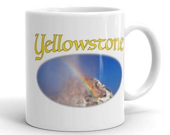 Coffee Mug - Yellowstone Rainbow Geyser