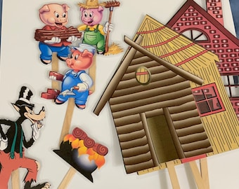 Farmer in The Dell Nursery Rhyme Feltflannel Board Story Telling  Puppets Quiet Play  Language and Speech Therapy