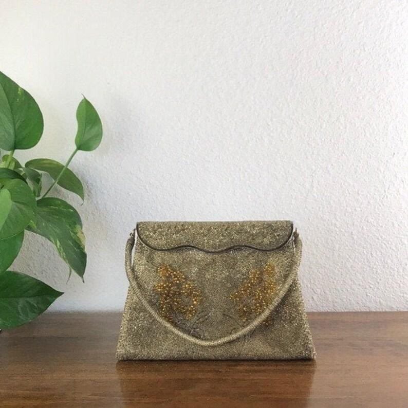 1940\u2019s Vintage Beaded Corii Tokyo Clutch