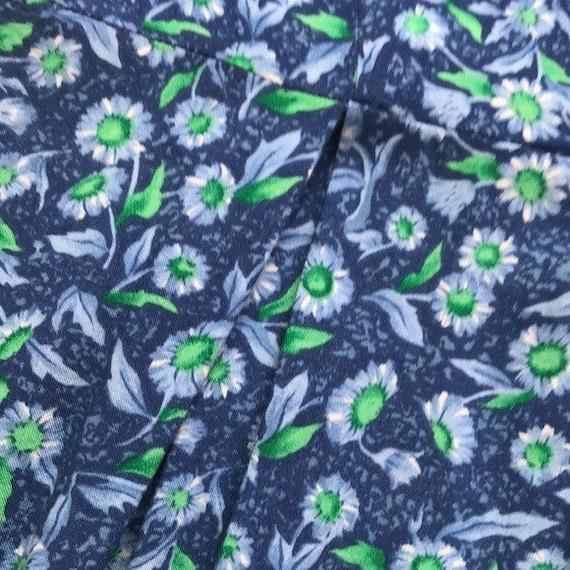 80's Vintage FADS Floral Romper - image 5
