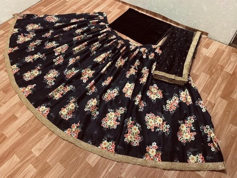 Designer lehenga choli for women party wear Bollywood lengha sari,Indian wedding wear embroidered custom stitched lehenga with dupatta