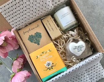 Bereavement Gift- Miscarriage-Sorry For Your Loss- Condolence-Sympathy Gift-Hug In A Box- Thinking Of You- The Forget Me Not Box