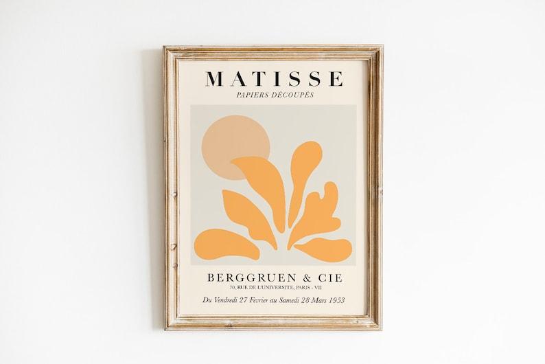 Matisse Print Set of 5 digital prints