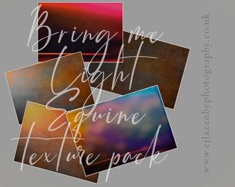 Bring Me Light - Equine Texture Pack - digital photoshop overlay set