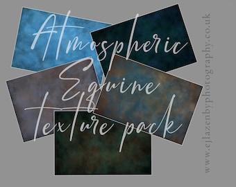 Atmospheric Equine Texture Pack - digital photoshop overlay set