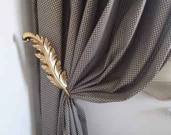 Leaf Curtain Holdback