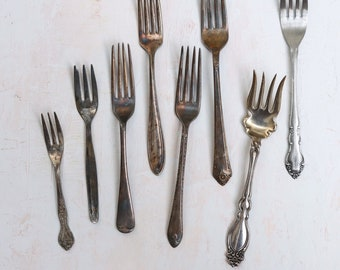 9 Forks Old Company Plate Silverware Silverware Etsy Vintage Silverware Etsy Vintage Silverware Old Company Plate Vintage Silverware