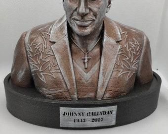 Bust JOHNNY HALLYDAY