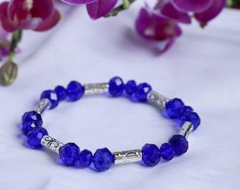 Electric Blues Bracelets