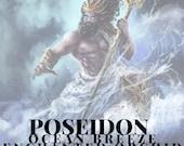 Poseidon Inspired Candle