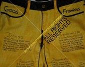 Gods Promises HandWritten Art Womens 535 legging Levis pants