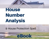 House Number Analysis and House Protection Spell eBook