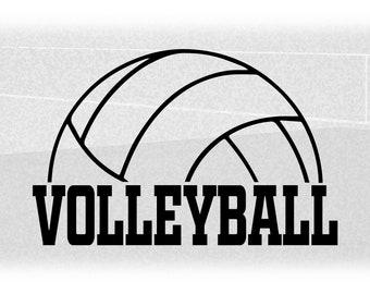 half volleyball svg