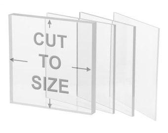 "High Quality Custom Acrylic Cutting - Any Shape/Any Size/Any Quantity - 1/8"" - 1/4"" - 3/8"" - 1/2"""