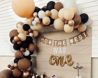107pcs Chocolate Brown Blush Balloon Garland Arch Kit Wedding Decoration Bridal Shower Supplies Baby Shower Birthday Party Engagement Decor