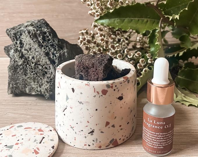 Featured listing image: Lava rock essential oil diffuser