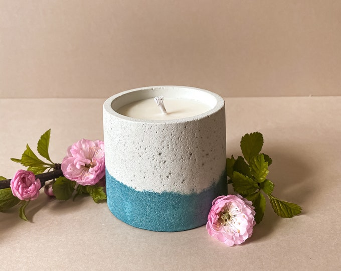 Featured listing image: Outdoor handcrafted luxury soy citronella candle