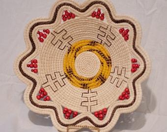 Handmade Peruvian Basket