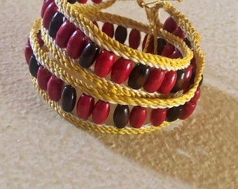"Handmade Chambira ""Double-Wrap"" Bracelet"
