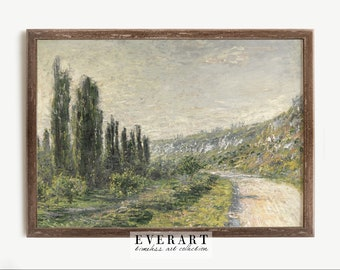 Impressionist Landscape Painting, French Country Decor, Downloadable Art   PRINTABLE #226