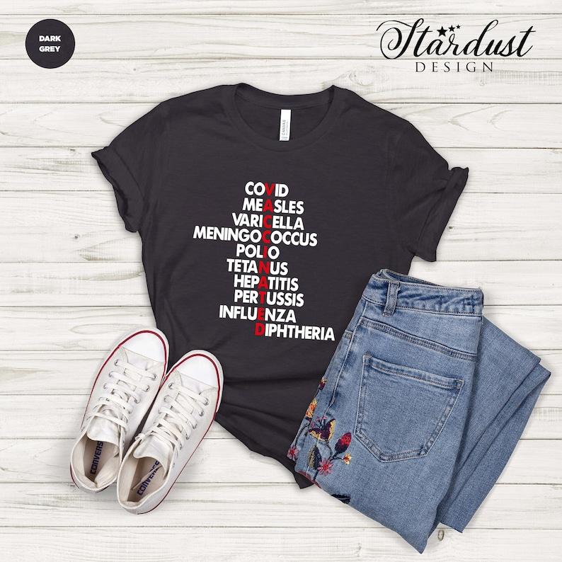 Gearhuman – Vaccinated T-shirt Vaccine Shirt Vaccinated Tee Pro – 3D Tshirt – TH-0053