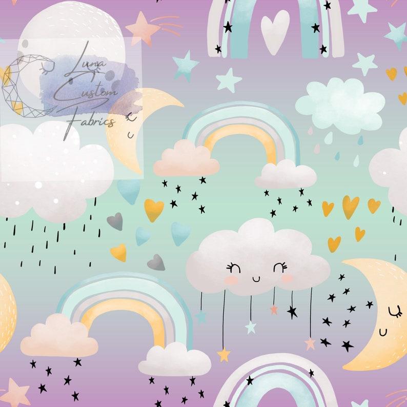 Baby Rainbow Preorder Cloud Fabric Cotton Bullet DBP Mesh Swim