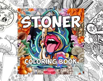 Stoner Coloring Book (30 pages)