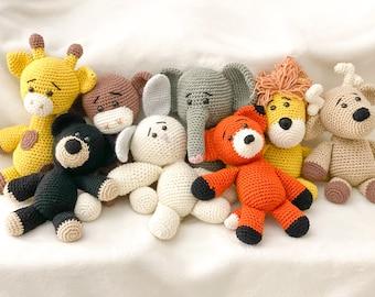 Crochet Stuffed Animals | Children's Toys | Crochet Toys | Crochet Animals