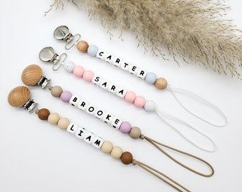 Personalized Pacifier Clip | Baby & Toddler | Soother Holder