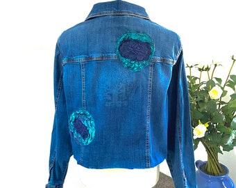 Yahuah Tree of Life Colorblock Fleece Lined Track Jacket