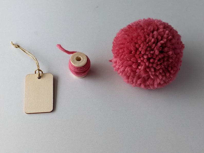 Large Pink Pom