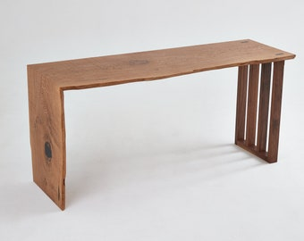 ContrastFurniture - The Epping Desk- Waterfall Detail -Beautiful Wooden Furniture with a Lifetime Guarantee