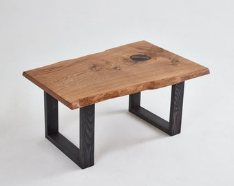 ContrastFurniture - The Wistmans Coffee Table - Beautiful Wooden Furniture with a Lifetime Guarantee
