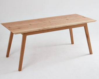 ContrastFurniture - The Odell Dining Table - Beautiful Wooden Furniture with a Lifetime Guarantee