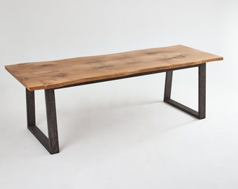 ContrastFurniture - The Wistmans Dining Table - Beautiful Wooden Furniture with a Lifetime Guarantee