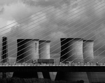 Runcorn Bridge high quality digital print