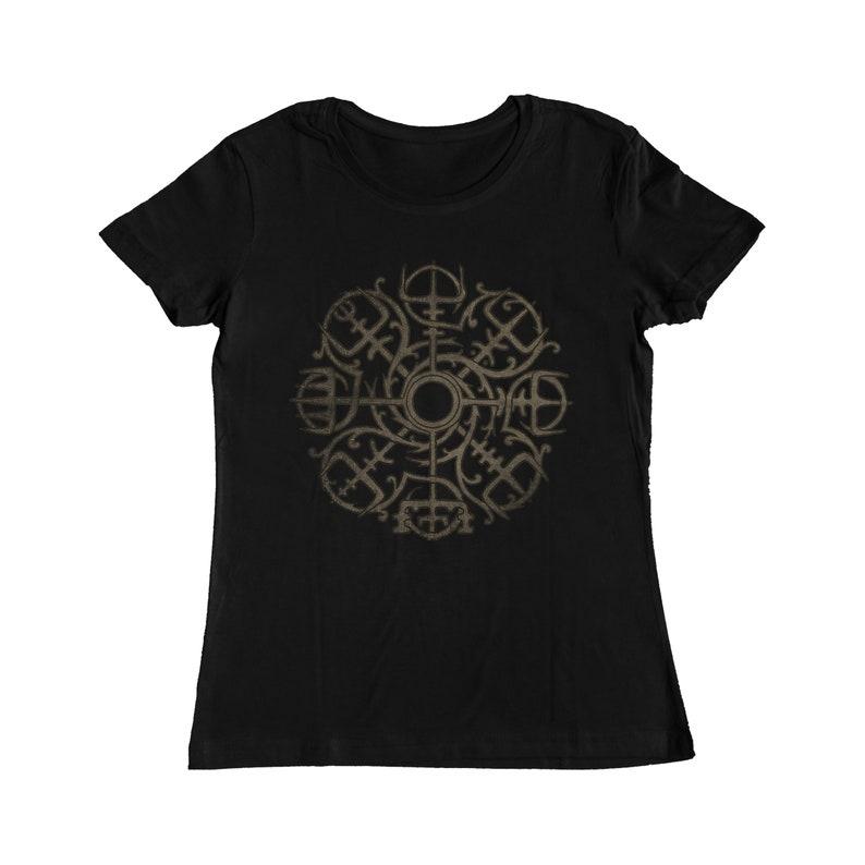 Vegvisir T-Shirt Women/'s and Kids sizes Men/'s